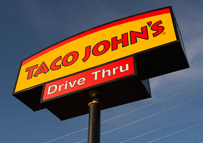 learn about Taco John's franchise cost