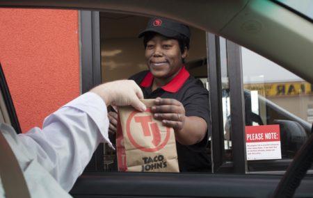 Taco John's Drive Thru Service