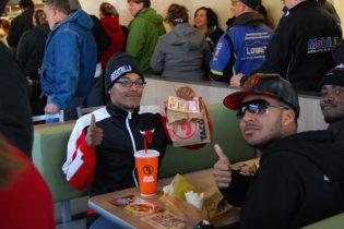 Full Taco John's customers in store