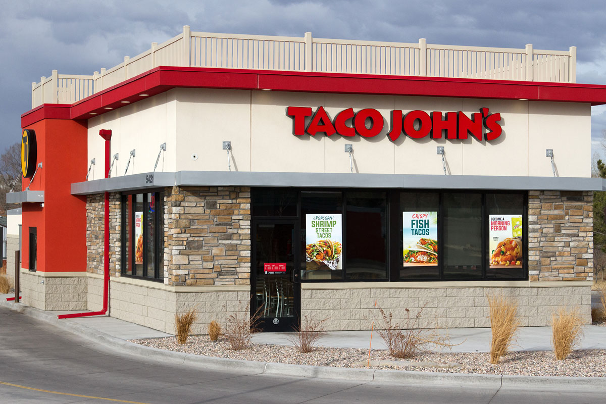 Taco Johns Yellowstone restaurant exterior