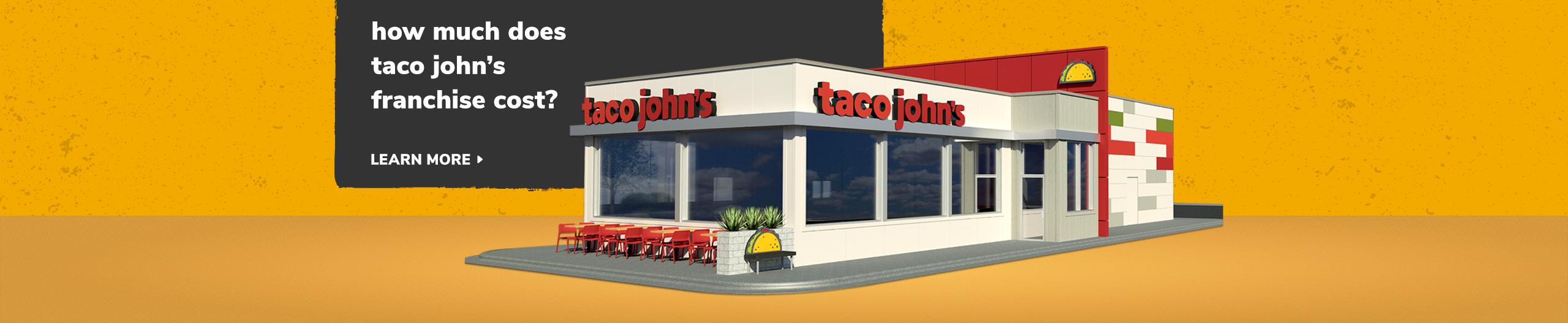 Taco John's franchise cost